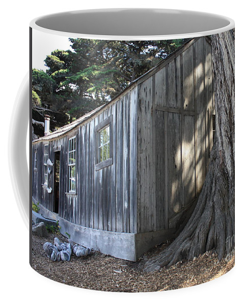 Coffee Mug featuring the photograph Whalers Cabin by Carol Groenen