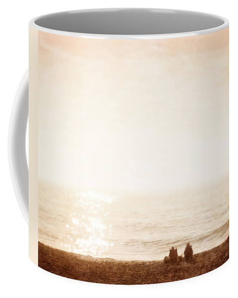 Beach Coffee Mug featuring the photograph What Is The Future by David Kay