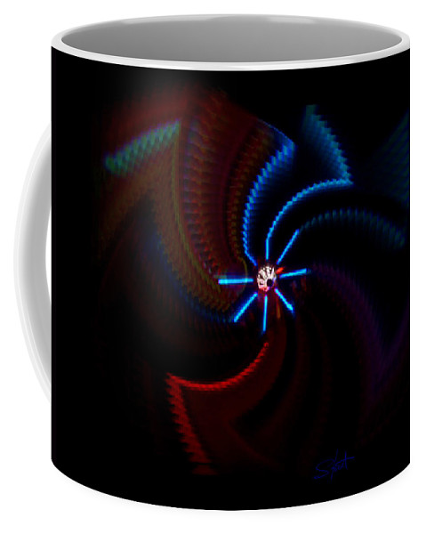 Chaos Coffee Mug featuring the photograph Wheel by Charles Stuart