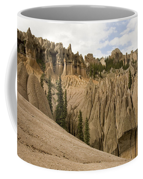 Colorado Coffee Mug featuring the photograph Wheeler Geological Area Is A Unique by Michael S. Lewis