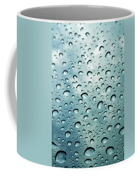 Photography Coffee Mug featuring the photograph When The Rain Comes by Linda Sannuti