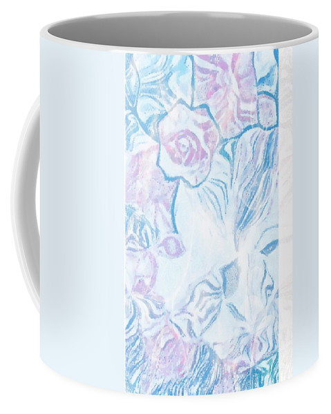 Where Is She More Obvious Coffee Mug featuring the digital art Where Is She More Obvious by Catherine Lott