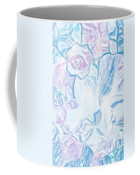 Where Is She With Cover Coffee Mug featuring the digital art Where Is She With Cover by Catherine Lott