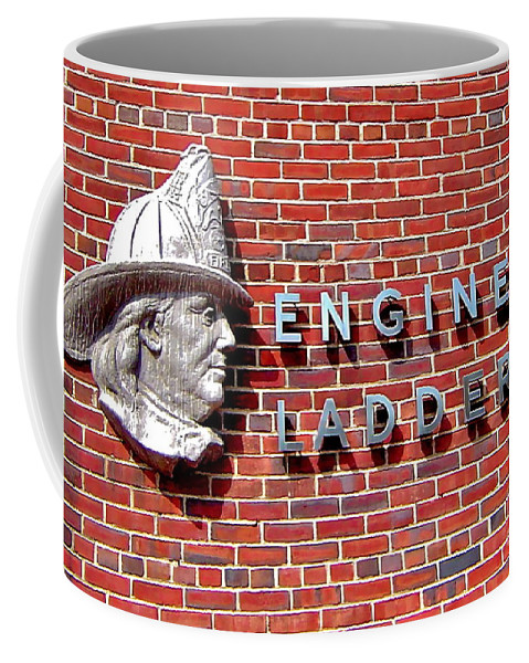 Brick Coffee Mug featuring the photograph Where It Started by Rick Monyahan