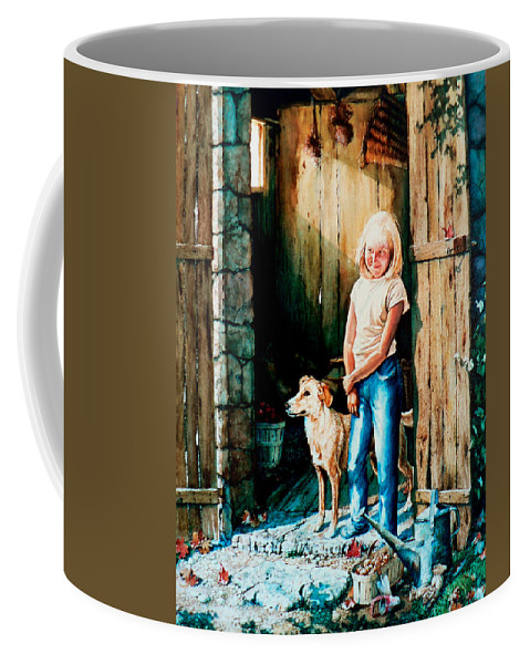 Tribute To Connie Francis Coffee Mug featuring the painting Where The Boys Are by Hanne Lore Koehler