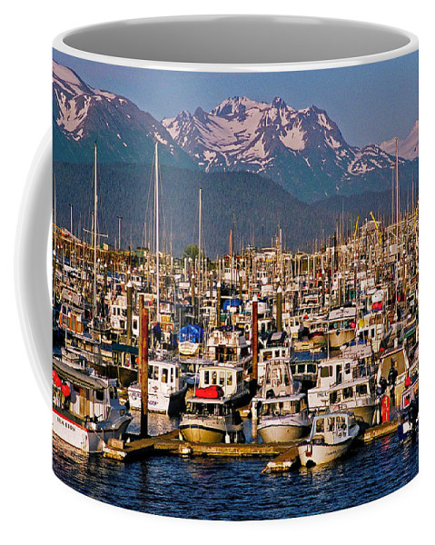 North America Coffee Mug featuring the photograph Where The Land Ends ... by Juergen Weiss