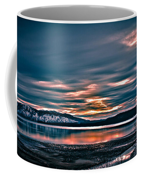 Lake Coffee Mug featuring the photograph Where The River Ends by Josh Smith Photography