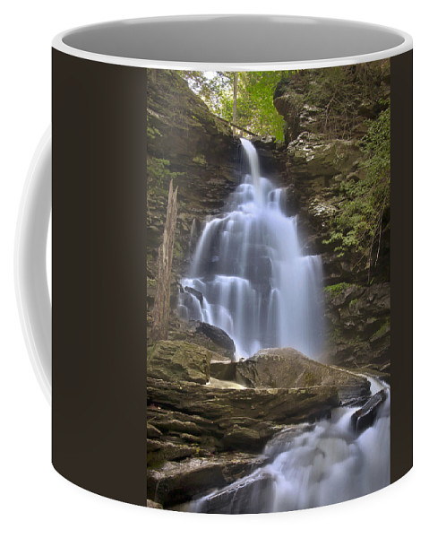 Blur Coffee Mug featuring the photograph Where Waters Flow by Evelina Kremsdorf