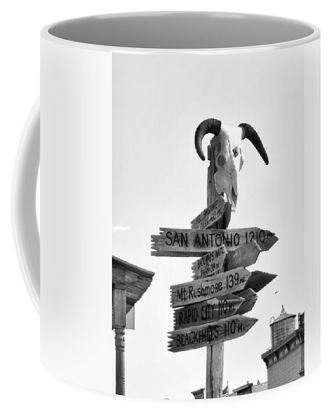 Ann Keisling Coffee Mug featuring the photograph Which Way? by Ann Keisling