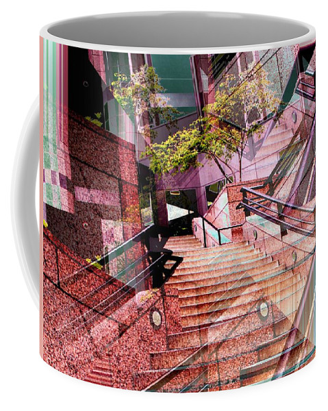 Stairs Coffee Mug featuring the photograph Which Way Up by Tim Allen