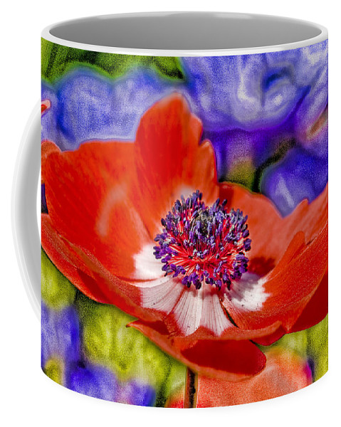 Poppy Coffee Mug featuring the digital art Whimsical by Ches Black