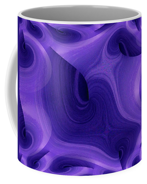 Fractals Coffee Mug featuring the photograph Whirlpool 1 by Tim Allen