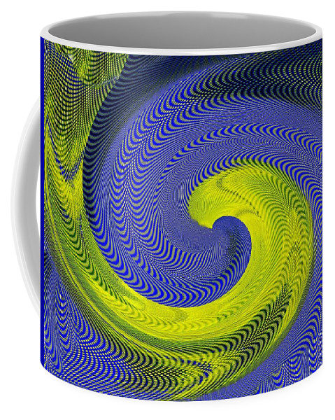 Whirlpool Coffee Mug featuring the photograph Whirlpool 4 by Tim Allen