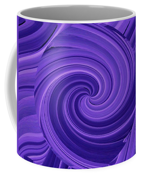 Whirlpool Coffee Mug featuring the photograph Whirlpool Blues by Tim Allen