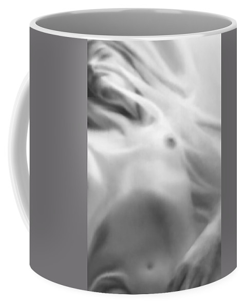 Artistic Coffee Mug featuring the photograph Whisper by Jaeda DeWalt