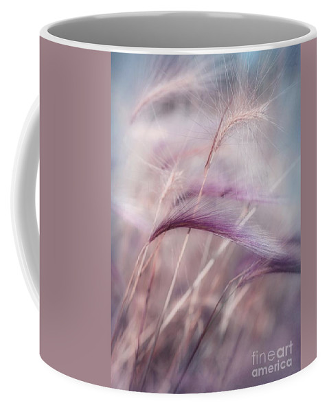 Barley Coffee Mug featuring the photograph Whispers In The Wind by Priska Wettstein