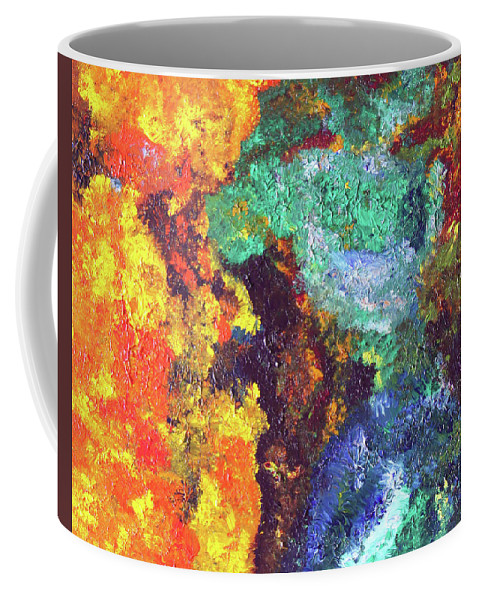 Fusionart Coffee Mug featuring the painting Whispers by Ralph White