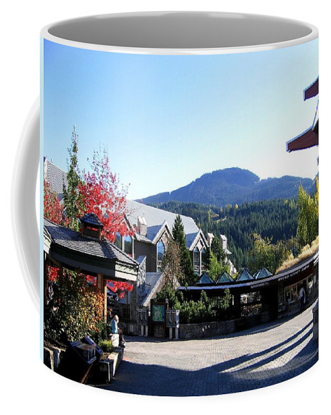 2010 Olympics Coffee Mug featuring the photograph Whistler Mountain by Will Borden