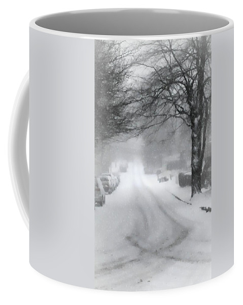Snow Coffee Mug featuring the photograph White Blanket by Diana Angstadt