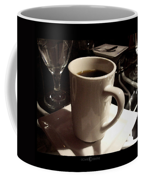 White Coffee Mug featuring the photograph White Cup by Tim Nyberg