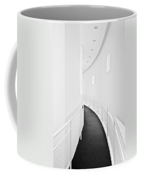 Hall Coffee Mug featuring the photograph White Hall by Robert Ponzoni