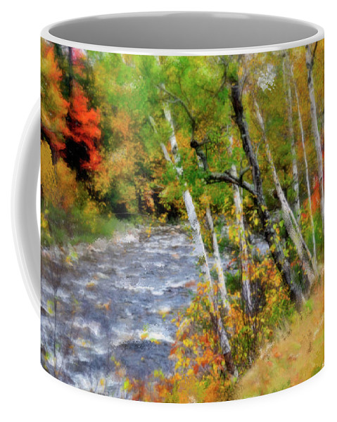 Stream Coffee Mug featuring the photograph White Mountains Brook by Betty LaRue