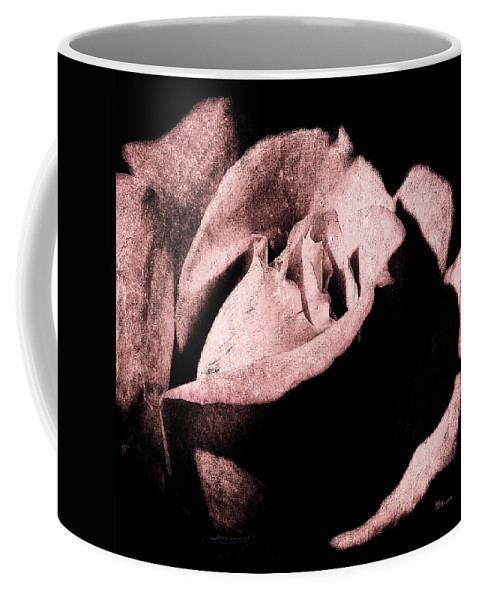 Antique Pink Coffee Mug featuring the digital art White Queen by Max Steinwald