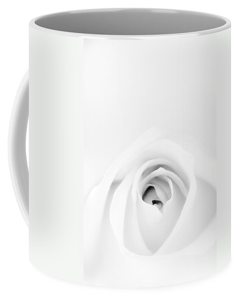 White Coffee Mug featuring the photograph White Rose by Scott Norris