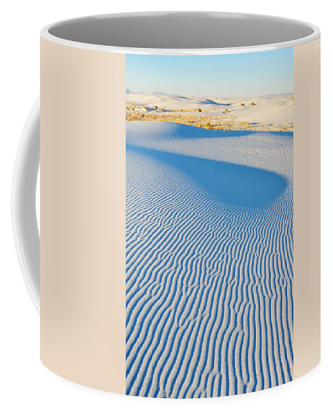 White Sands National Monument Coffee Mug featuring the photograph White Sands Magic Hour by Kyle Hanson