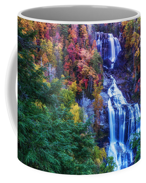 Whitewater Falls Coffee Mug featuring the photograph Whitewater Falls by Gestalt Imagery