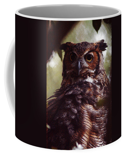 Clay Coffee Mug featuring the photograph Who by Clayton Bruster