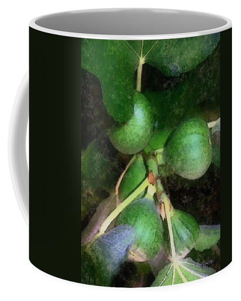 Fig Tree Coffee Mug featuring the digital art Who Gives A Fig by RC DeWinter
