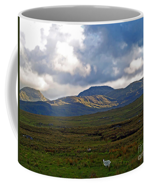 Fine Art Photography Coffee Mug featuring the photograph Who You Lookin' At by Patricia Griffin Brett