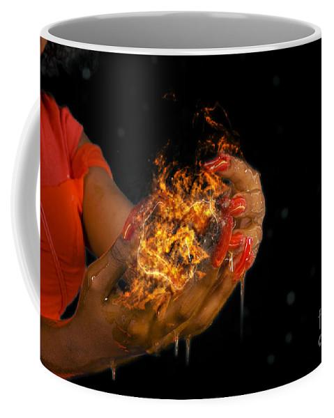 Wibbily Wobbly Timey Wimey Coffee Mug featuring the photograph Wibbily Wobbly Timey Wimey by Ilan Rosen