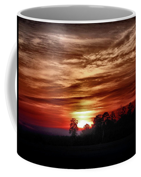Sunset Coffee Mug featuring the photograph Wicked by Gina Welch