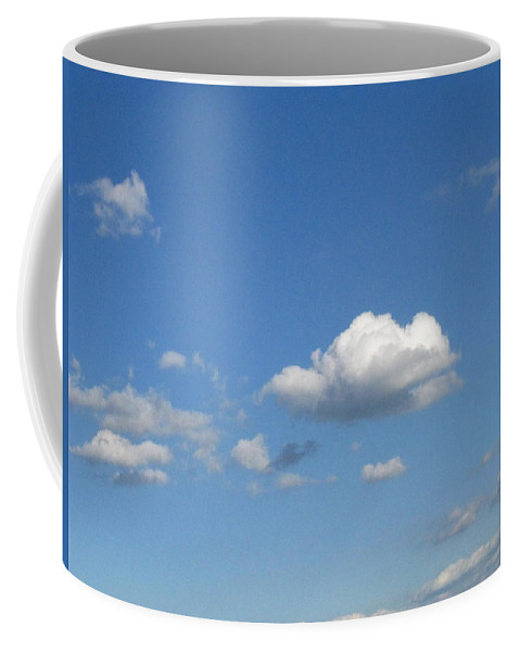 Clouds Coffee Mug featuring the photograph Wide Open by Rhonda Barrett