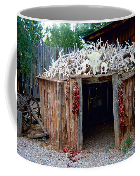 Wigwam Coffee Mug featuring the photograph Wigwam by Louise Magno
