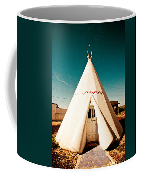 66 Coffee Mug featuring the photograph Wigwam Room #3 by Robert J Caputo