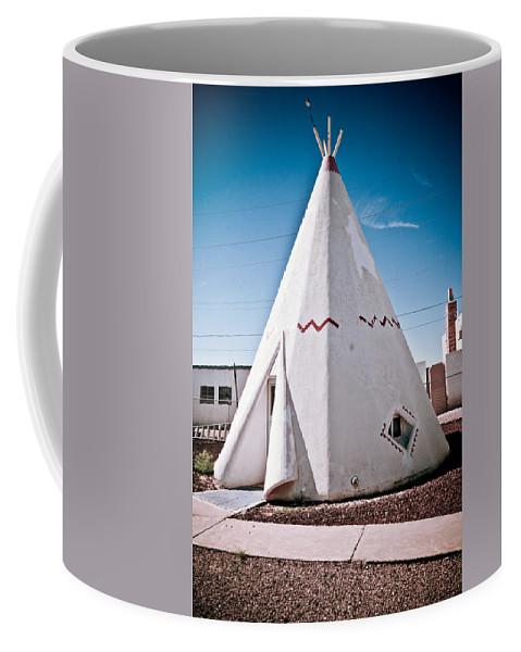 66 Coffee Mug featuring the photograph Wigwam Room by Robert J Caputo