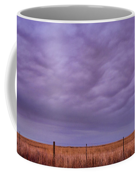 Country Coffee Mug featuring the photograph Wild Country Sky by James BO Insogna