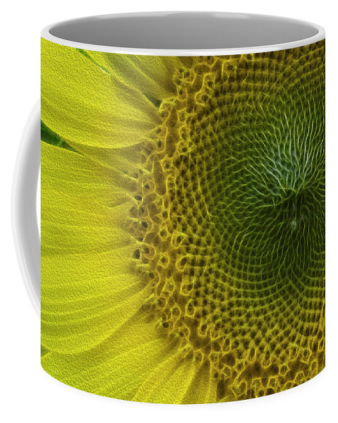 Sunflower Coffee Mug featuring the photograph Wild Sunflower by Billy Bateman