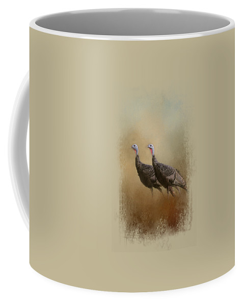 Jai Johnson Coffee Mug featuring the photograph Wild Turkey At Shiloh by Jai Johnson