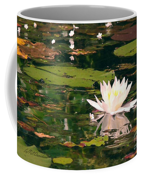 Water Lilly Coffee Mug featuring the photograph Wild Water Lilly by Patricia L Davidson