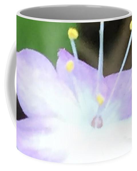 Flower Coffee Mug featuring the photograph Wildflower Salute by Vonda Drees