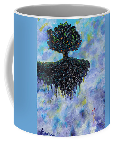 Tree Coffee Mug featuring the painting Will Ascends by Stefan Duncan