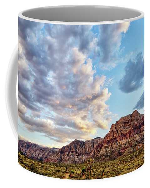 Mojave Desert Coffee Mug featuring the photograph Wilson Cliffs by James Marvin Phelps