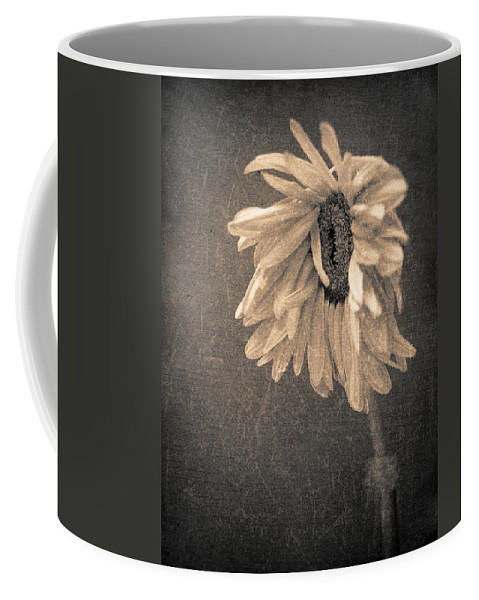 Flower Coffee Mug featuring the photograph Wilting In Colour by Tara Turner
