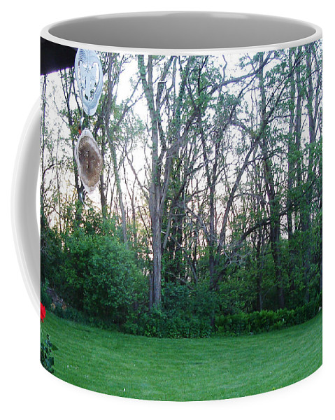 Landscape Coffee Mug featuring the photograph Wind Chimes by Lovina Wright