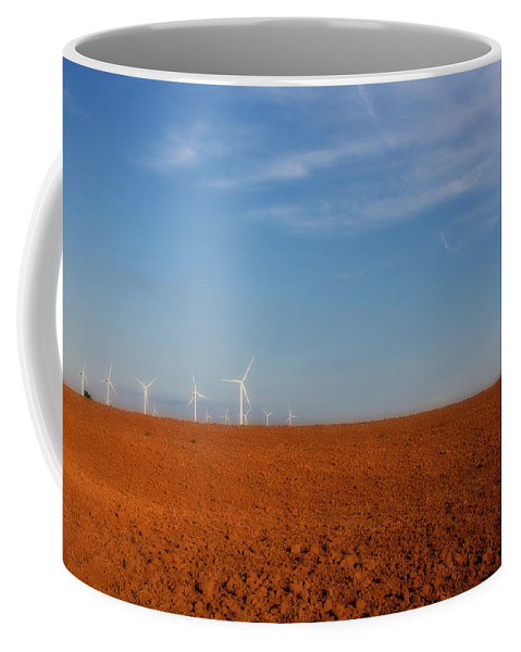 America Coffee Mug featuring the photograph Wind Power by Lana Trussell