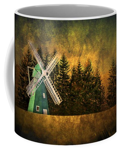 Brimfield Coffee Mug featuring the photograph Windmill On My Mind by Evelina Kremsdorf
